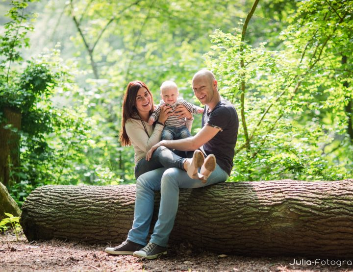 Fotoshoot familie in omgeving Zwolle