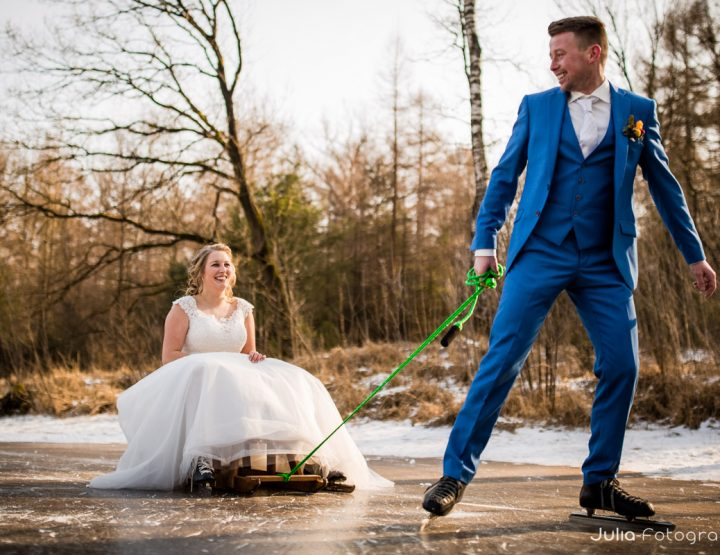 Winter bruiloft Roel & Tineke in Staphorst
